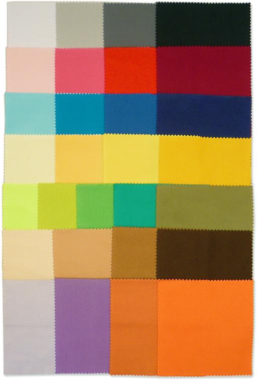 豊富なカラーバリエーションは29色